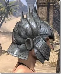 Ancient Elf Iron Helm - Female Right