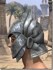 Ancient Elf Iron Helm - Male Side