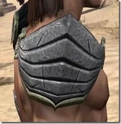 Ancient Elf Iron Pauldron - Male Right