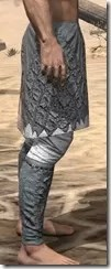 Ashlander Iron Greaves - Male Right