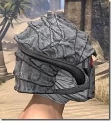 Ashlander Iron Helm - Male Right