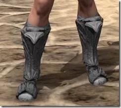 Ashlander Iron Sabatons - Female Front