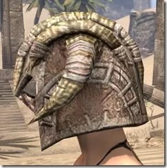 Barbaric Iron Helm - Female Side