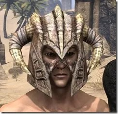 Barbaric Iron Helm - Male Front