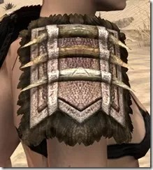 Barbaric Iron Pauldron - Female Right