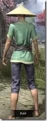 Budi-Shirt and Galligaskins - Dyed Rear