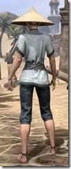 Budi-Shirt and Galligaskins - Female Rear