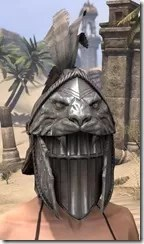 Daggerfall Covenant Iron Helm - Female Front