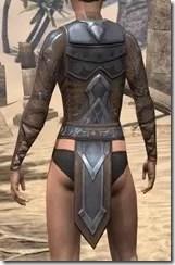 Dark Brotherhood Iron Cuirass - Female Rear
