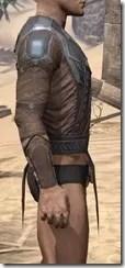 Dark Brotherhood Iron Cuirass - Male Right