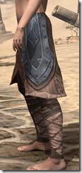 Dark Brotherhood Iron Greaves - Female Side