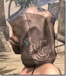 Dark Brotherhood Iron Helm - Female Side