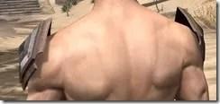 Dark Brotherhood Iron Pauldron - Male Rear