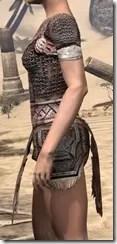 Draugr Iron Cuirass - Female Side