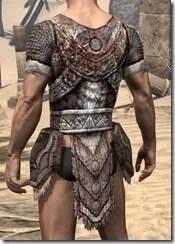 Draugr Iron Cuirass - Male Rear