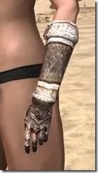 Draugr Iron Gauntlets - Female Side