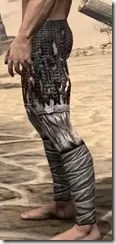 Draugr Iron Greaves - Male Side
