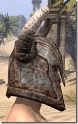 Draugr Iron Helm - Male Right