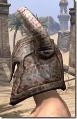 Draugr Iron Helm - Male Side