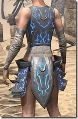 Dro-m'Athra Iron Cuirass - Female Rear