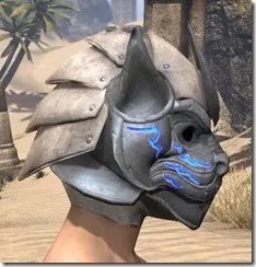 Dro-m'Athra Iron Helm - Male Right