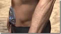 Dro-m'Athra Rawhide Belt - Male Side