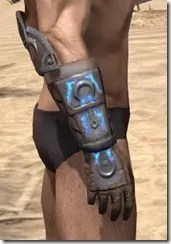 Dro-m'Athra Rawhide Bracers - Male Right