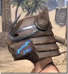 Dro-m'Athra Rawhide Helmet - Female Side