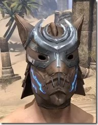 Dro-m'Athra Rawhide Helmet - Male Front
