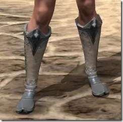 Ebonheart Pact Homespun Shoes - Female Front