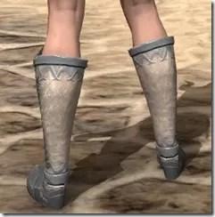 Ebonheart Pact Homespun Shoes - Female Rear