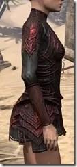 Ebony (Old) Heavy Cuirass - Female Right