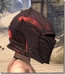 Ebony (Old) Heavy Helm - Female Right