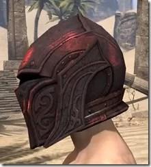 Ebony (Old) Heavy Helm - Male Side