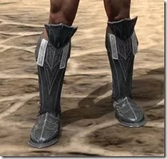 Ebony Rawhide Boots - Male Front