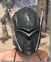 Ebony Rawhide Helmet - Female Front