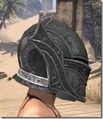 Ebony Rawhide Helmet - Female Right