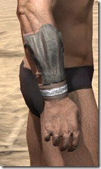 Mazzatun Iron Gauntlets - Male Right