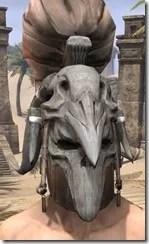 Mazzatun Iron Helm - Male Front