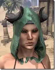 Minotaur Homespun Hat - Female Front