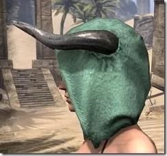Minotaur Homespun Hat - Female Side