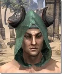 Minotaur Homespun Hat - Male Front