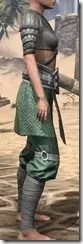 Minotaur Homespun Robe 1- Female Right