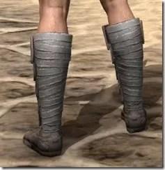 Minotaur Rawhide Boots - Male Rear