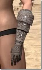 Minotaur Rawhide Bracers - Female Side