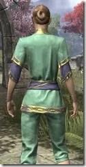 Moon-Sugar Festival Suit - Dyed Close Rear