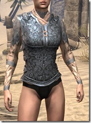Order of the Hour Iron Cuirass - Female Front