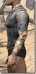 Order of the Hour Iron Cuirass - Male Side