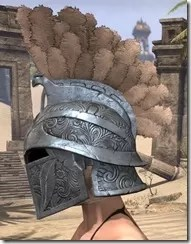 Order of the Hour Iron Helm - Female Side