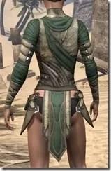 Outlaw Homespun Jerkin - Female Rear